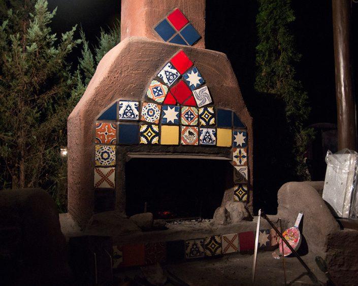 campandcabins 暖炉