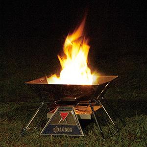 logos 焚火ピラミッドグリル