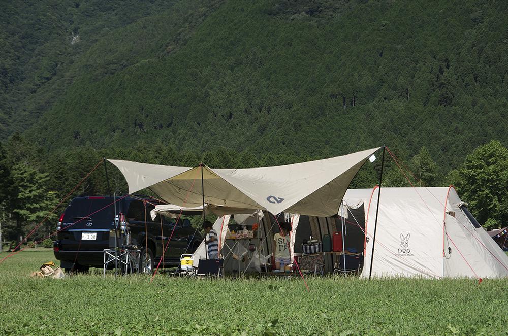 ふもとっぱら キャンプ