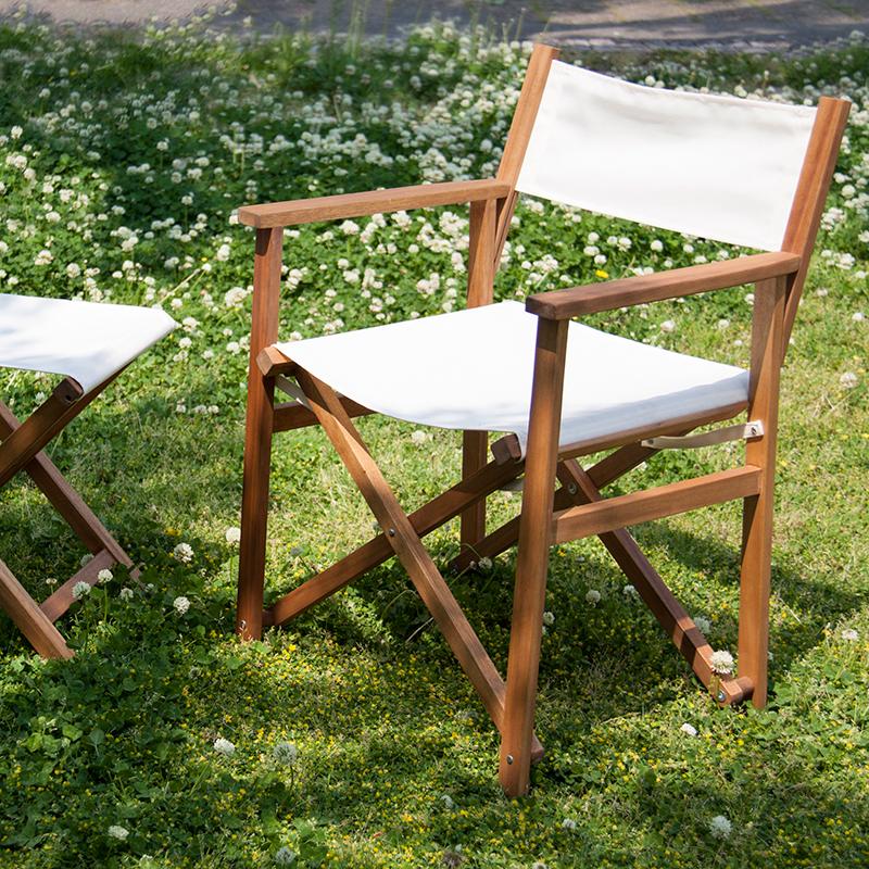キャンプ椅子 ディレクターチェア